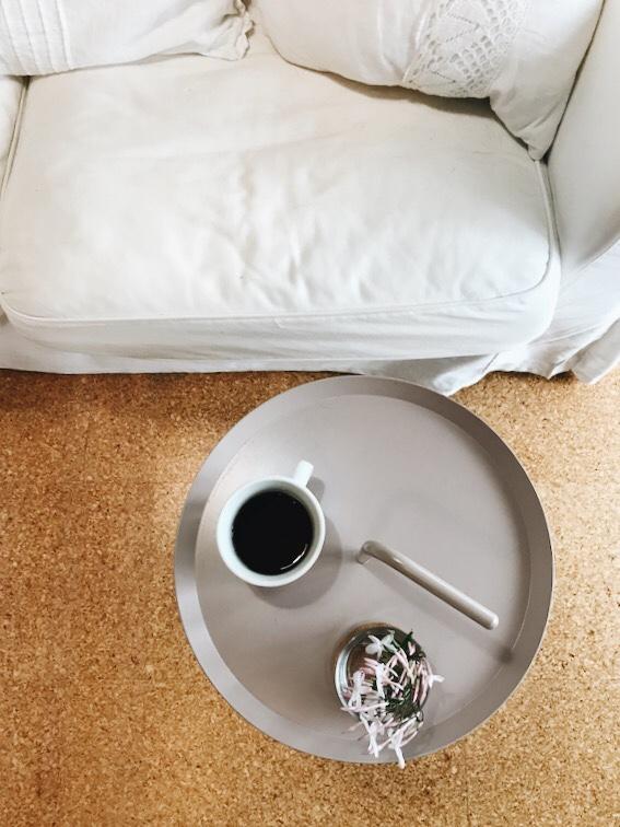 ソファとHAYのテーブル
