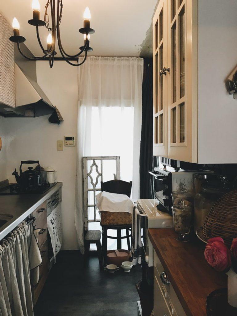 パリ風キッチン