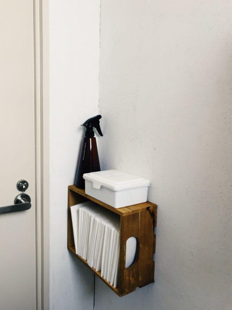 パリ風インテリア団地のトイレ