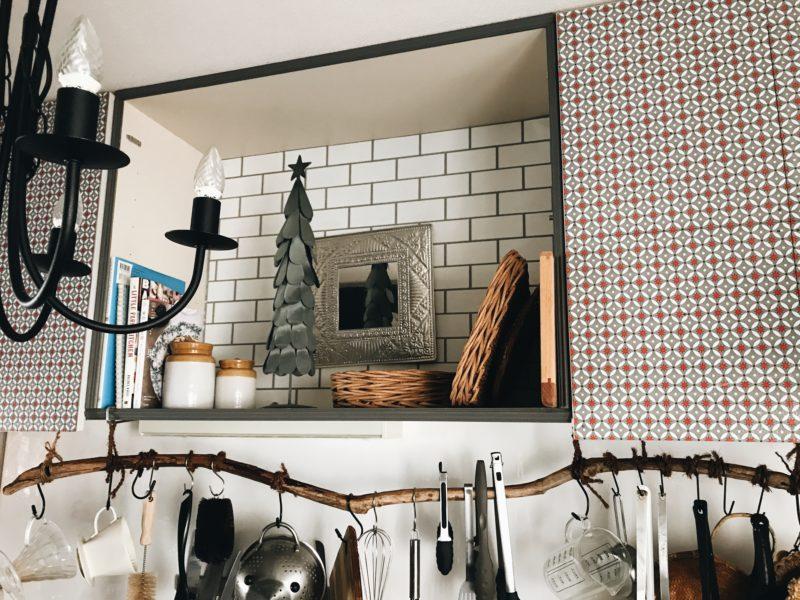パリ風キッチンのクリスマス