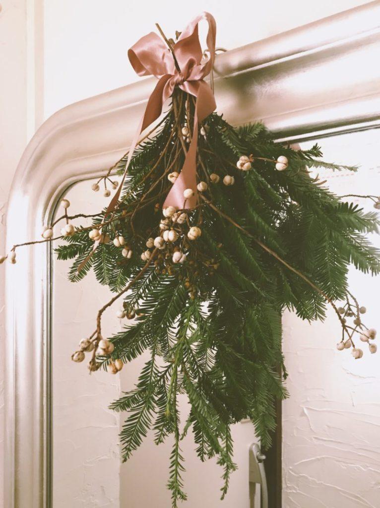 クリスマスのスワッグ