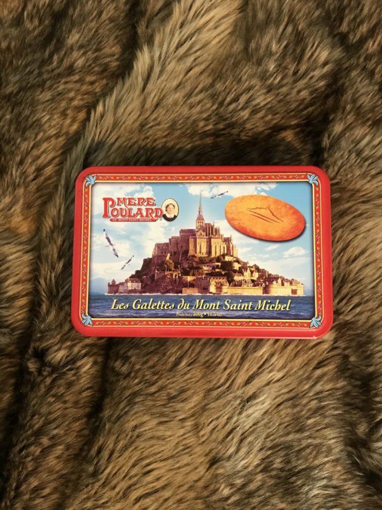 フランスお菓子の箱