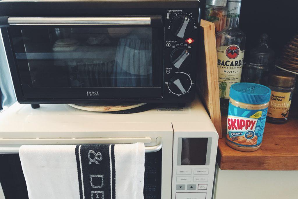 パリ風キッチンのオーブン