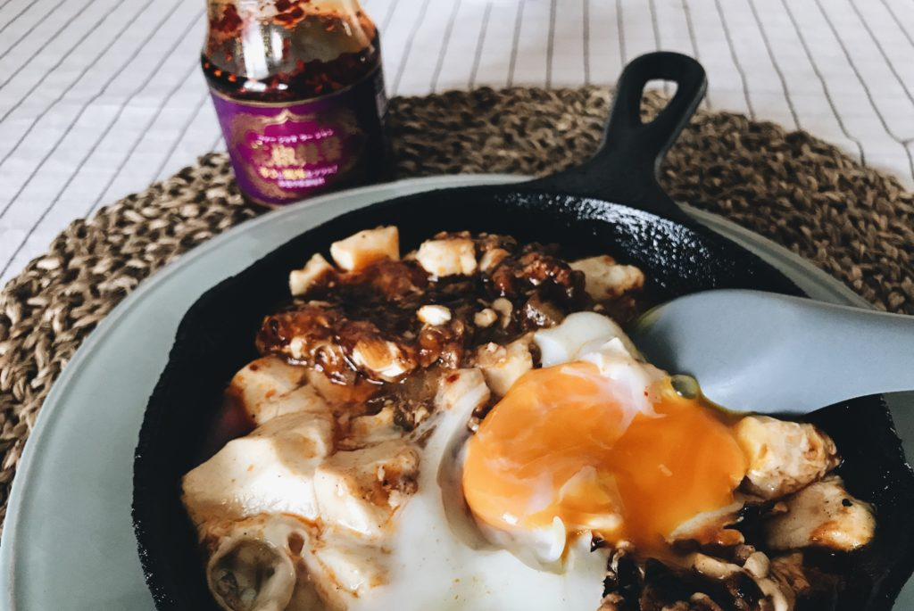 業務スーパー調味料と麻婆豆腐