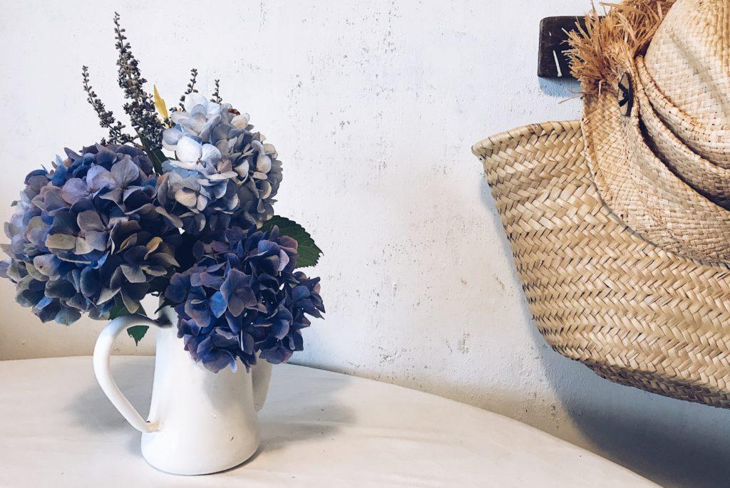 青い紫陽花ブーケ