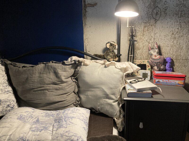 パリ風ベッドルーム