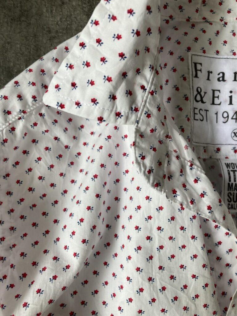 フランク&アイリーンのシャツ