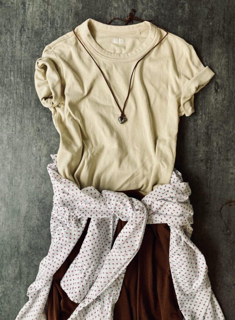 ユニクロUのTシャツ